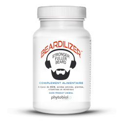 Beardilizer - Beard growth Activator - 90 Capsules
