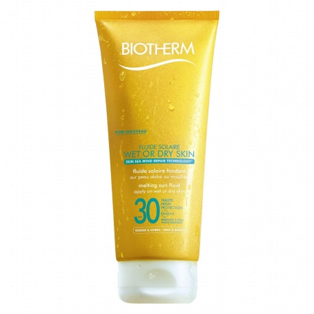 Biotherm - Fluide Solaire Wet Or Dry Skin SPF30 - 200ml