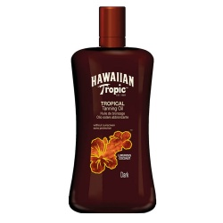 Hawaiian Tropic - Huile sans protection Dark - Flacon de 200ml