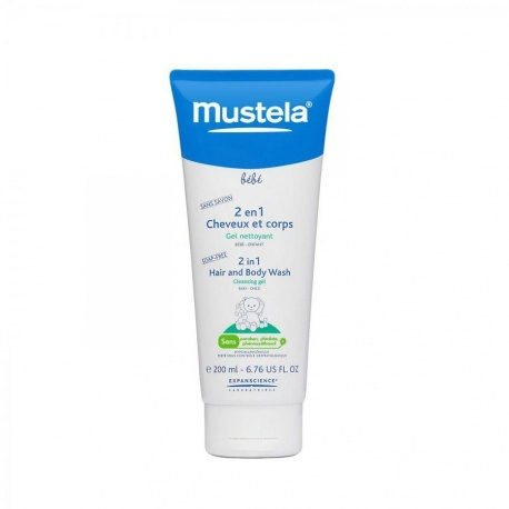 Mustela - Baby 2-in-1 Cleansing Gel - Child - 200ml