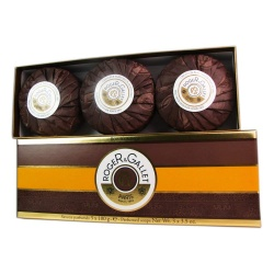 Roger & Gallet - Box 3 Soaps Orange Wood - 3 x 100 g