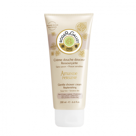 Roger & Gallet - Resourcing Shower Cream Persian Almond - 200ml