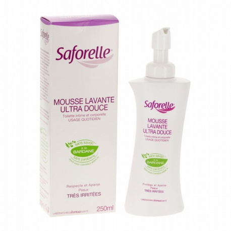 Saforelle - Ultra-Mild Cleansing Foam - 250ml