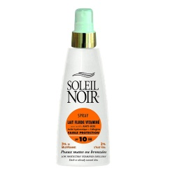 Soleil Noir - Fluid Milk Spray with Vitamins SPF10 - 150 ml