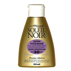 Soleil Noir - Cream Care with Vitamins SPF30 - 50ml