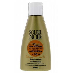 Soleil Noir - Cream Care with Vitamins SPF10 - 50ml
