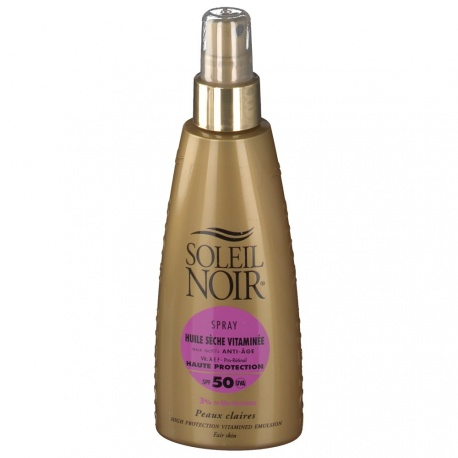Soleil Noir - Dry Oil with Vitamins SPF 50 - 150ml