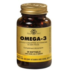 Solgar - Omega 3 Fish Oil Concentrate - 30 Softgels
