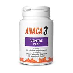 Anaca 3 - Flat Belly - 60 Capsules