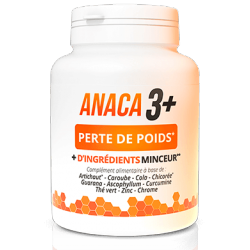 Anaca 3 - Weight Loss - 120 Capsules