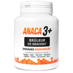 Anaca 3+ - Fat Burner Reinforced Dosages - 120 Capsules