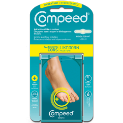 Compeed - Horns - Hydrating - Medium Format - 6 Dressings