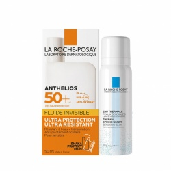 La Roche Posay - Anthelios Fluide Invisible SPF 50+ - 50ml + Offert Eau Thermale 50ml